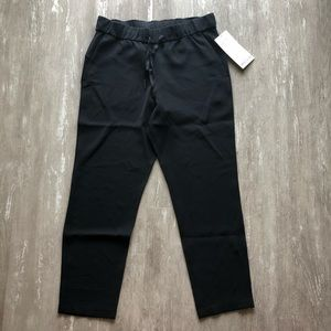 Lululemon On The Fly 7/8 Pant Woven - black